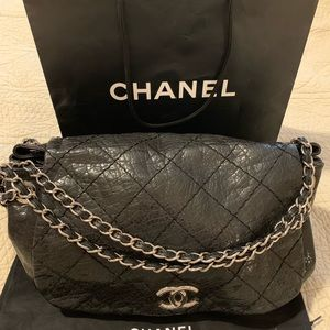 Chanel vintage patent leather